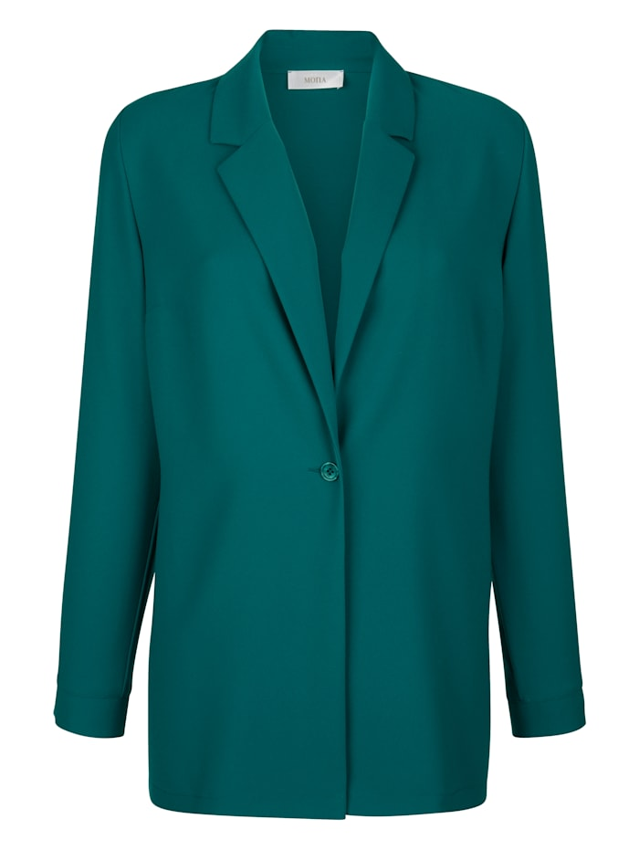 Blazer in längerer Form