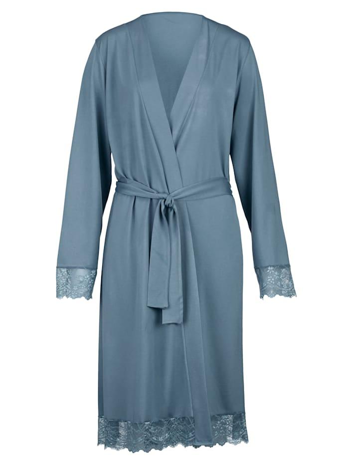 Ensemble robe de chambre + nuisette à dentelle élégante Lot