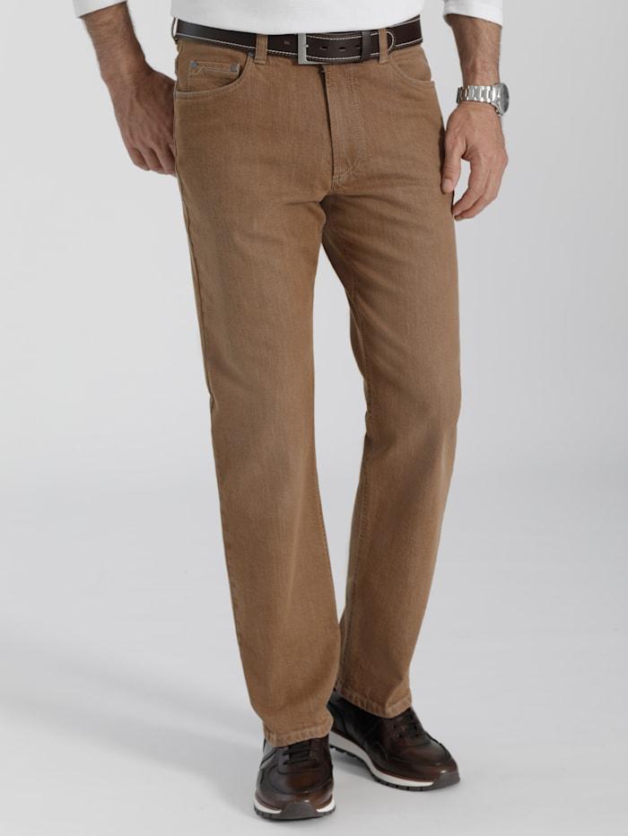 BABISTA Jeans mit Used-Look durch Spezialbehandlung, Camel