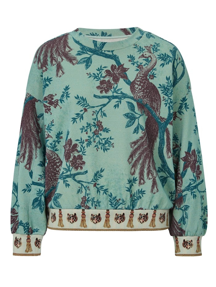 REPLAY Sweatshirt, Türkis