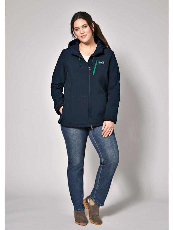 Softshell jas, ademend, waterafstotend & winddicht