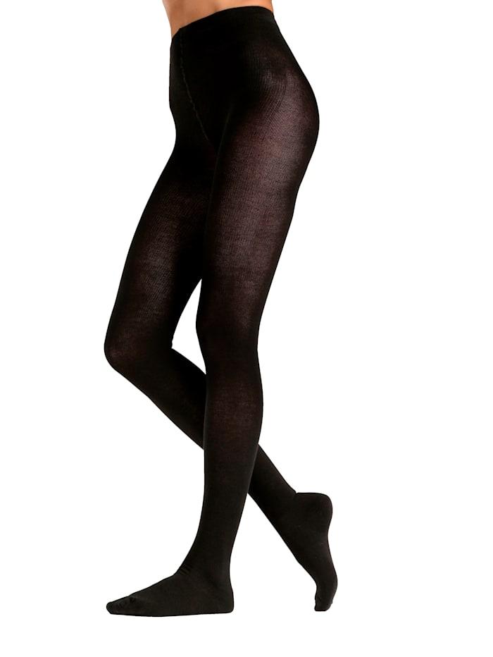 Arthroven Bio punčochové kalhoty s výrazným zpevněním, Černá