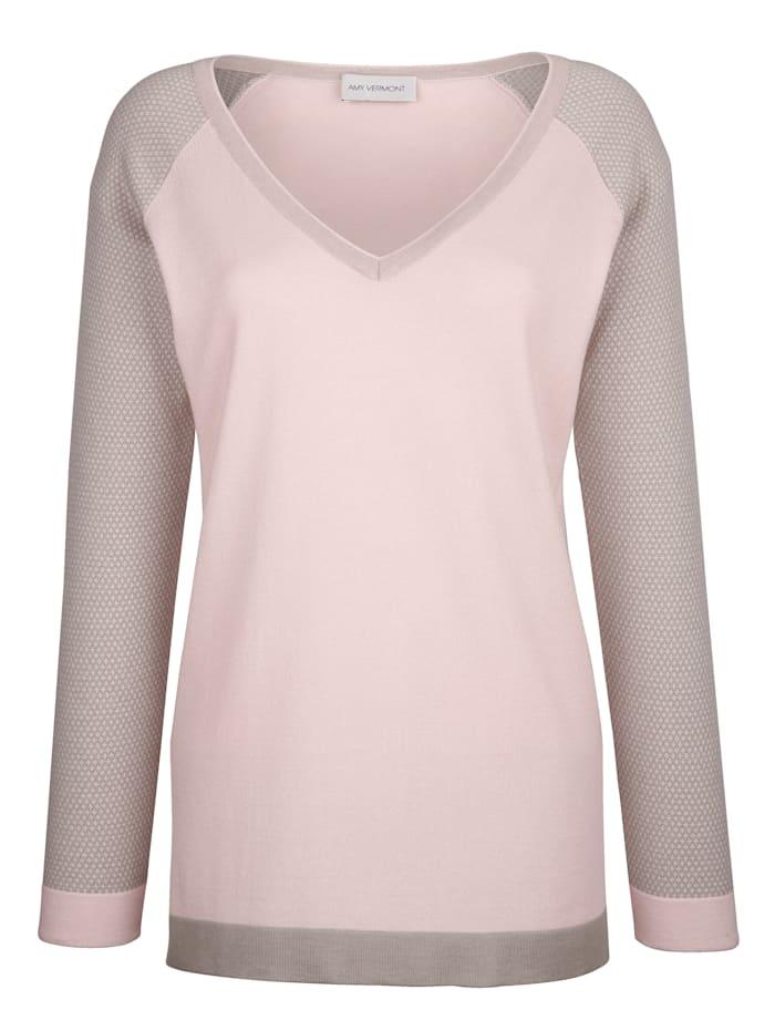 Pullover mit Tubularabschlüssen