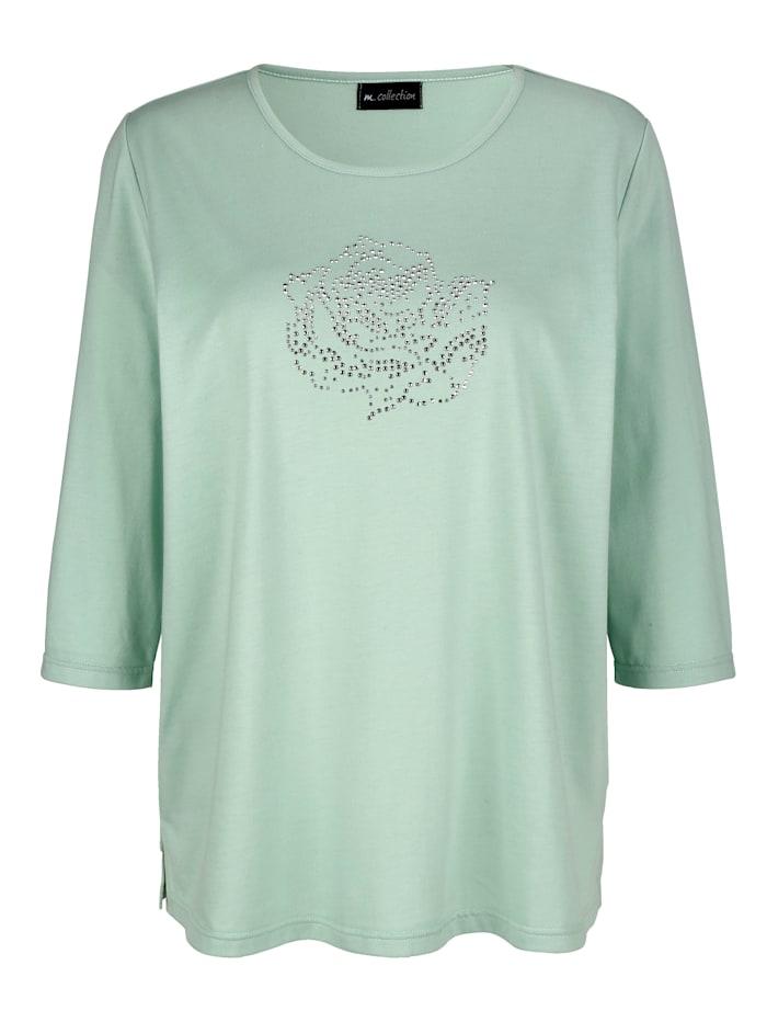 Shirt met rozenmotief