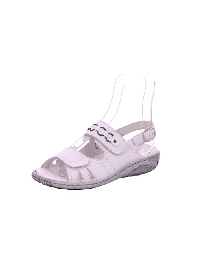 Waldläufer Sandalen/Sandaletten, weiß