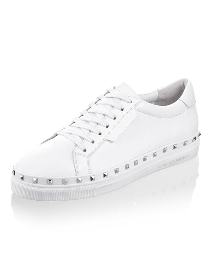Kennel & Schmenger Sneaker in sportlicher Variante, Weiß