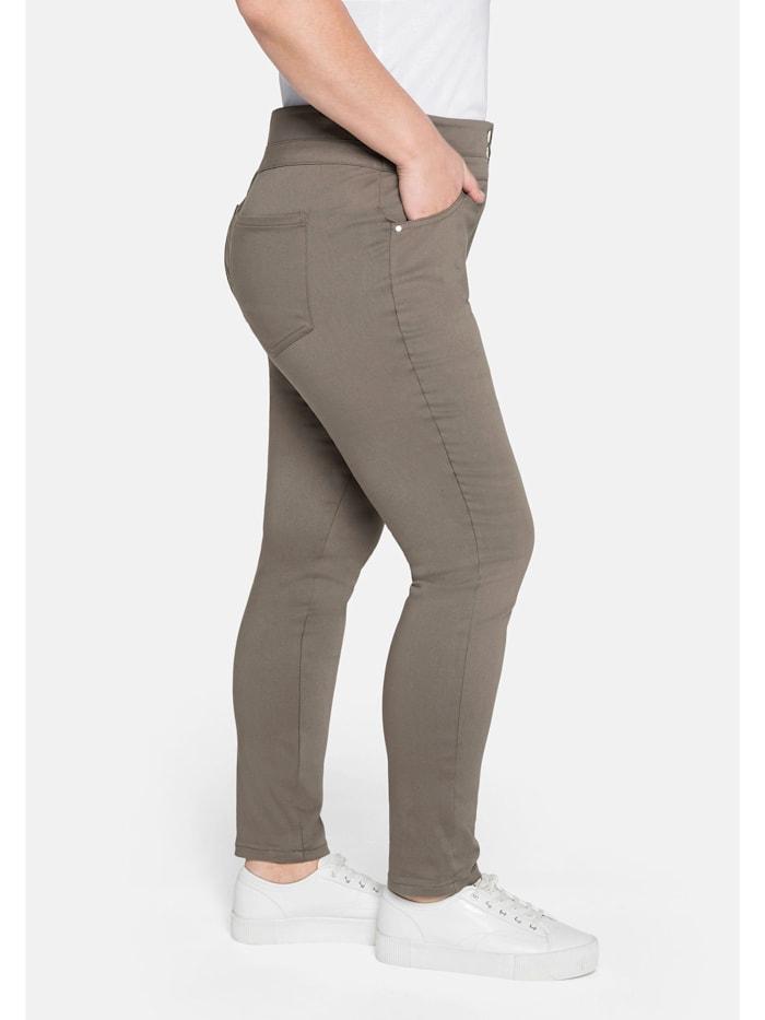 Hose »Die Skinny« mit breitem Formbund