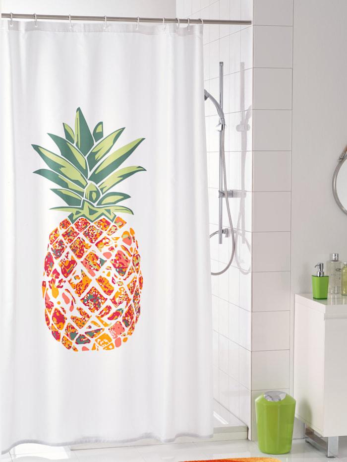 Kleine Wolke Anneaux pour rideau de douche, blanc, Blanc