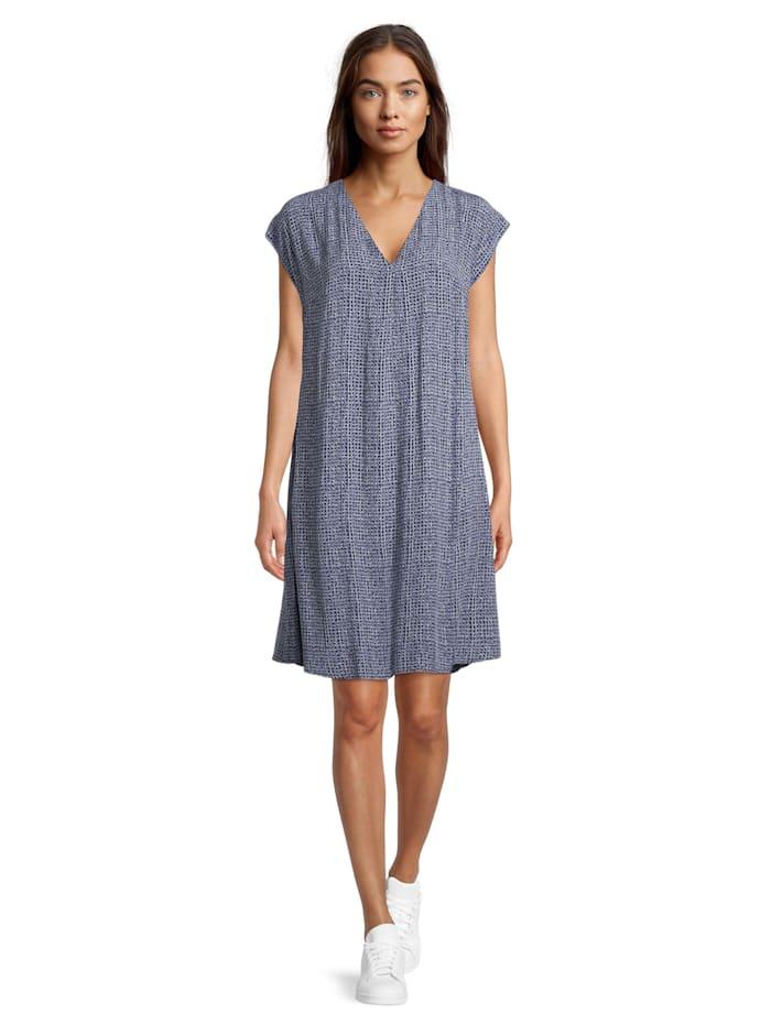 Betty & Co Sommerkleid mit V-Ausschnitt, Hellblau