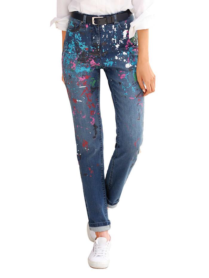 Dress In Jeans Paola slim, Blau