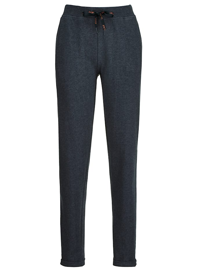 JOOP! Joggers Relaxed fit, Blue Melange/White