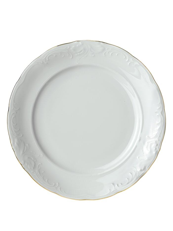 Kristoff Kaffeservis i 3 delar, vit/guldgul