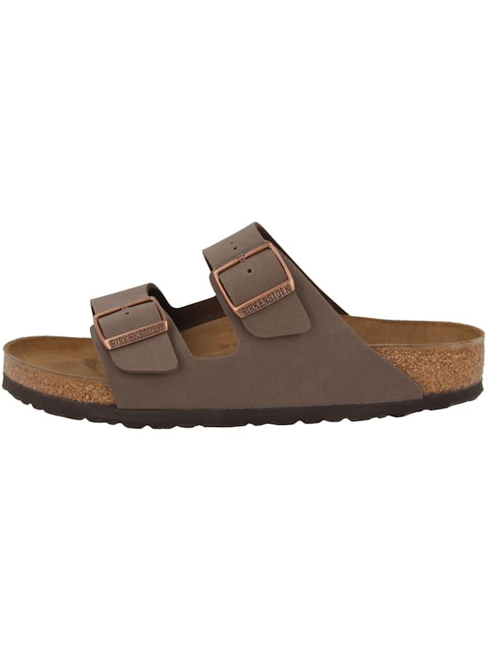 Birkenstock Sandale Arizona Birko-Flor Nubuk schmal, braun