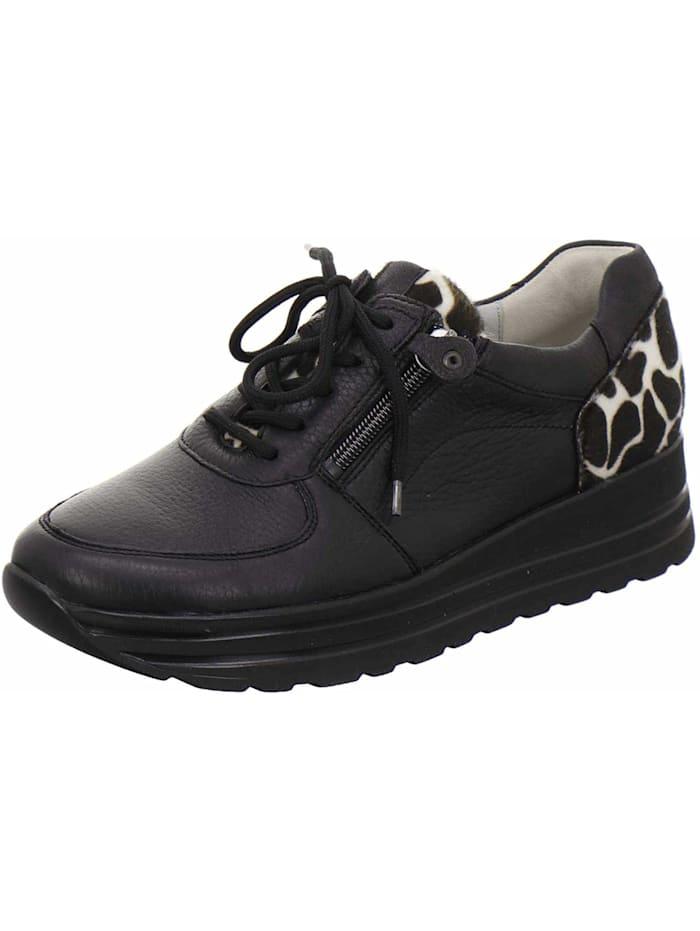 Waldläufer Sneaker, schwarz