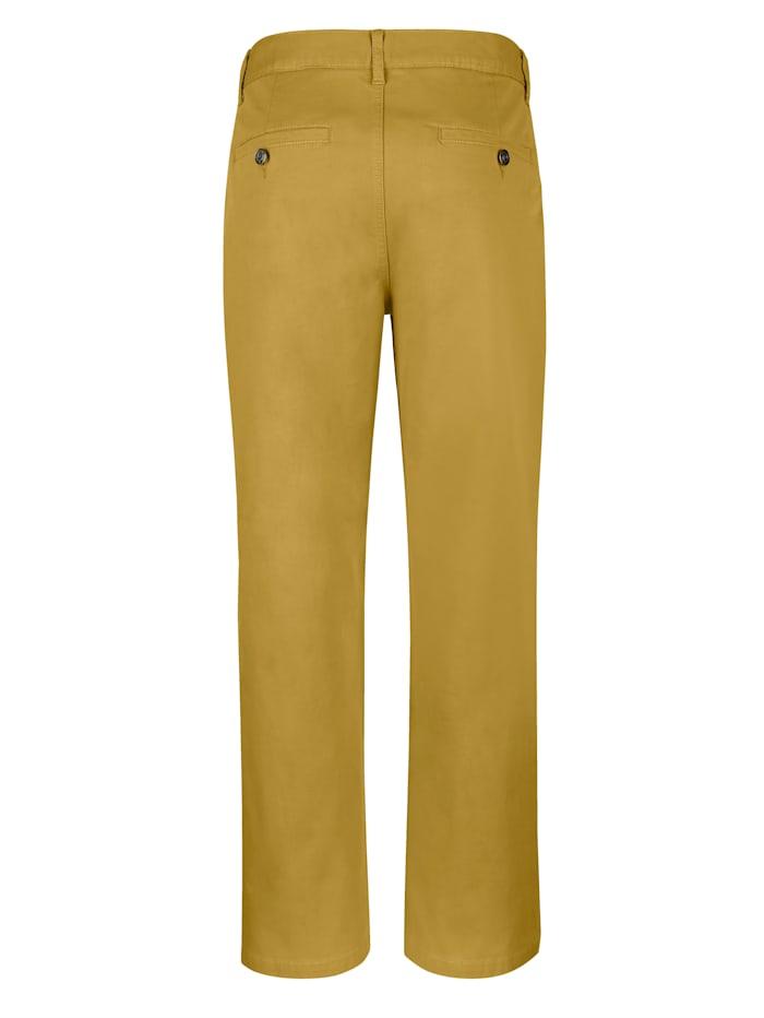 Pantalon sans pinces à part de stretch