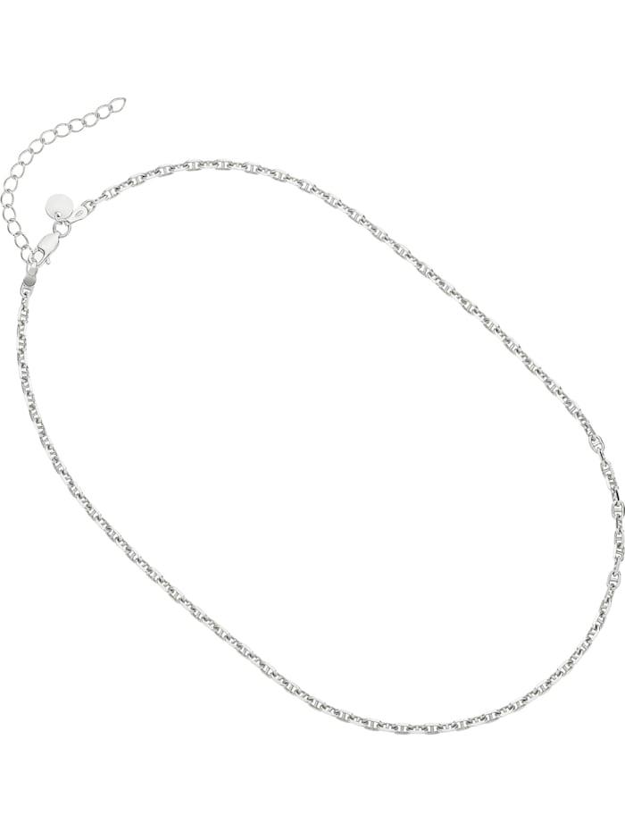Noelani Noelani Damen-Kette 925er Silber, Silber