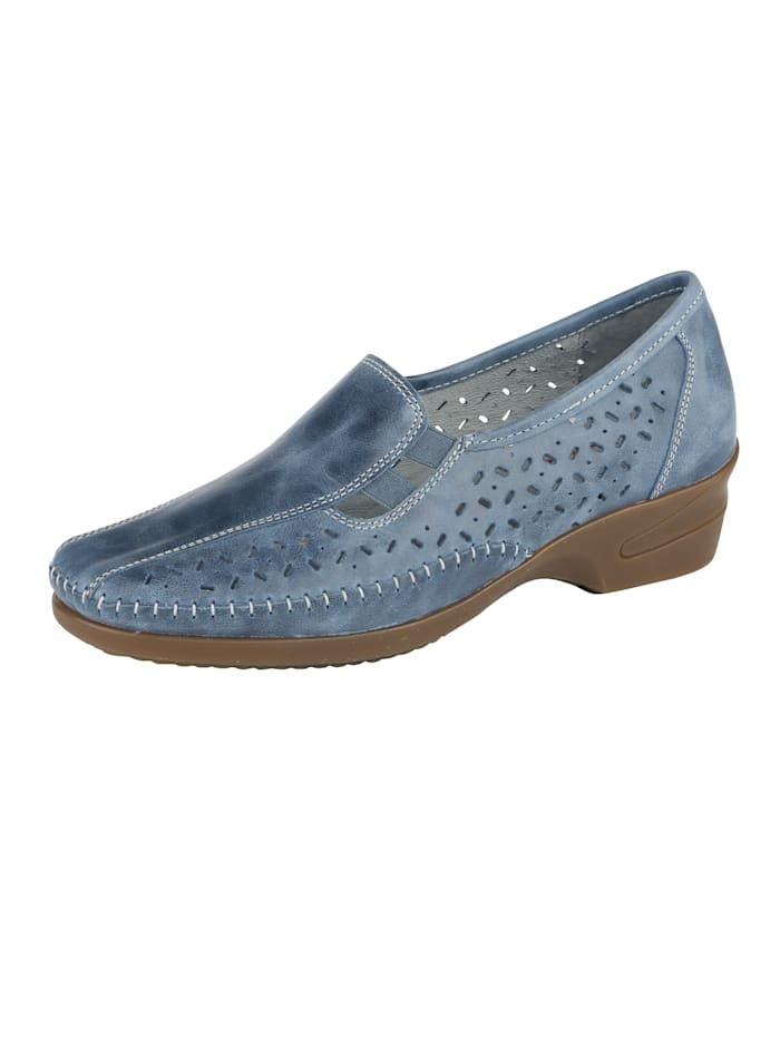 Naturläufer Loafers in a versatile design, Blue