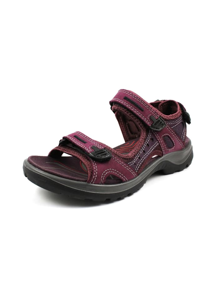 Ecco Sandalen/Sandaletten, rot
