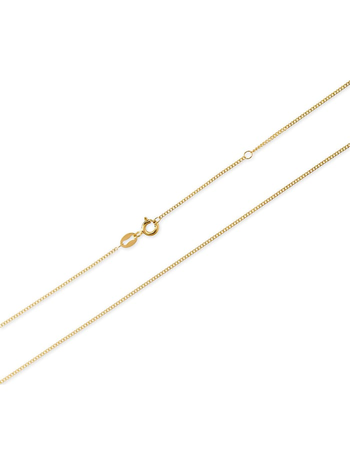 CHRIST Gold Damen-Kette Kette mit Kompass-Anhänger 375er Gelbgold