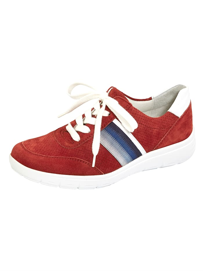 Vamos Lace-up shoes with air cushion sole, Red