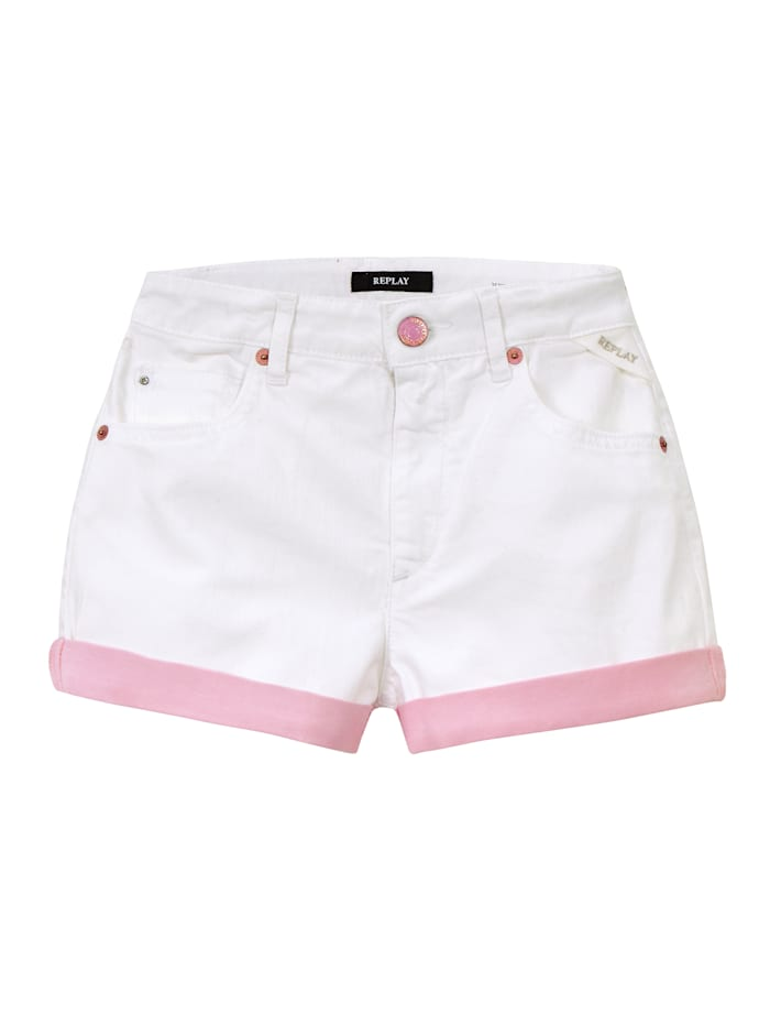 REPLAY Shorts Kids, Off-white