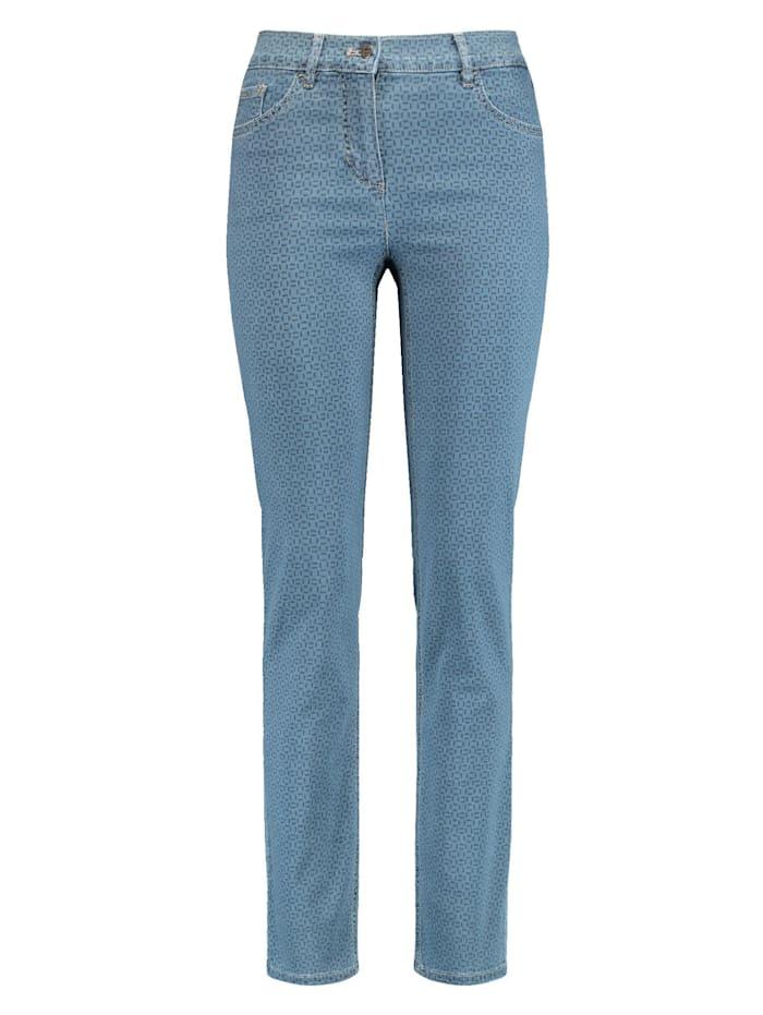 Gerry Weber 5-Pocket Jeans Best4me SlimFit, dark blue/blue denim