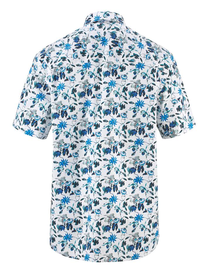 Skjorta med trendigt mönster