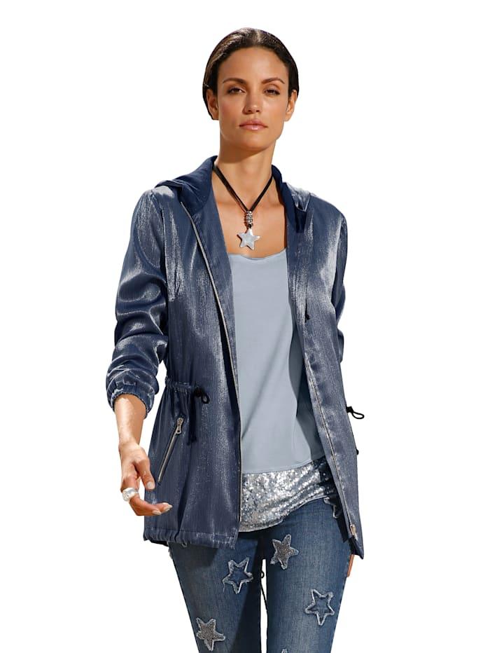 Jacke aus strukturierter Ware