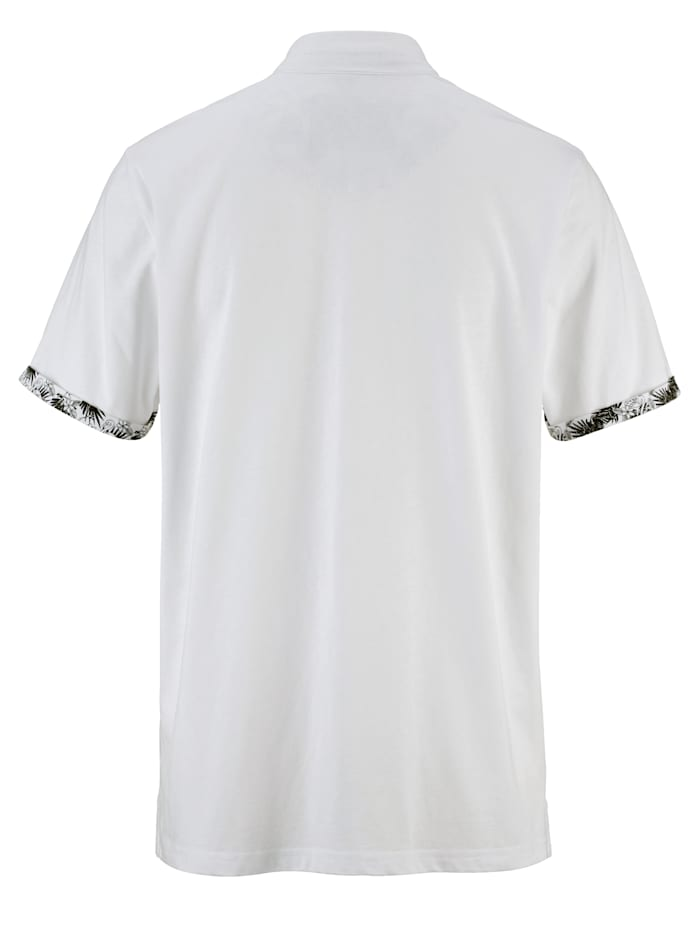 Tričko s módním stojatým límcem