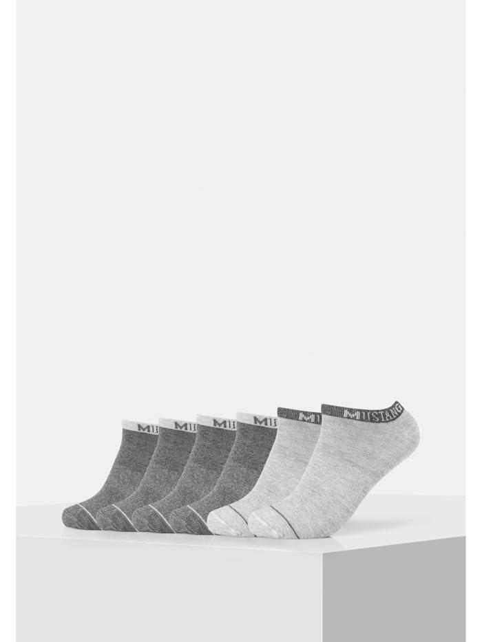 Sneakersocke im praktischen 6er-Pack