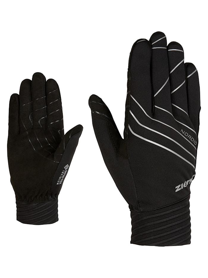 Ziener UGO GTX INF glove crosscountry, Black