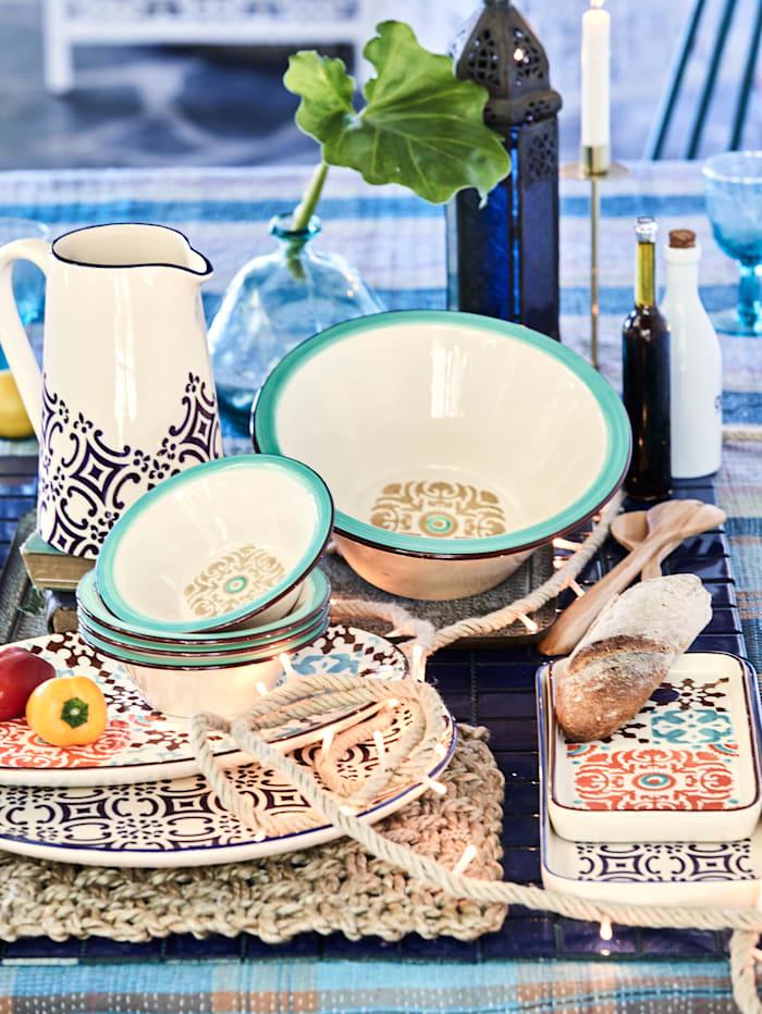 Schale Keramik rechteckig