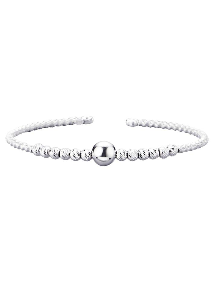 KLiNGEL Armspange diamantiert, Silberfarben