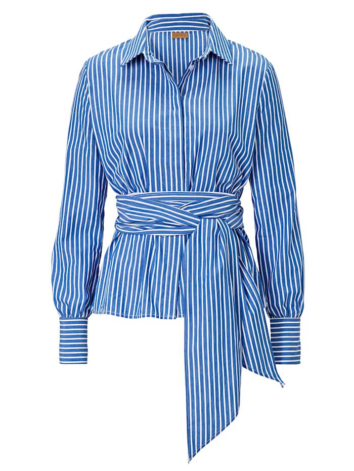 ODEON Bluse, Blau