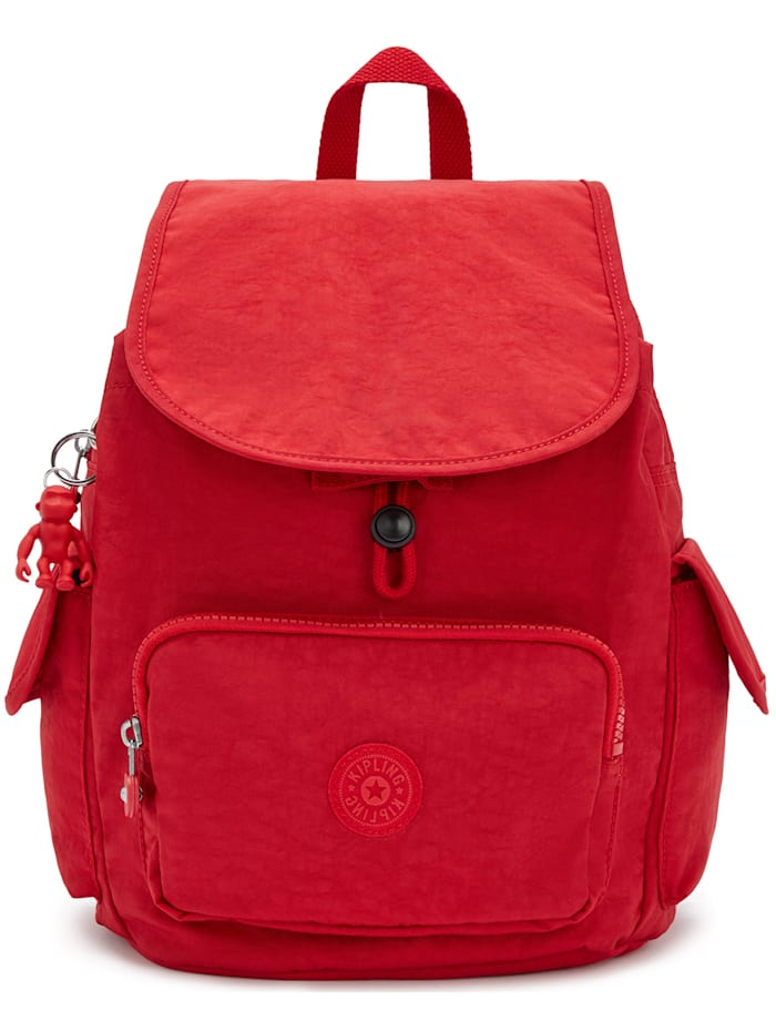 Kipling Basic City Pack S Rucksack 33,5 cm, red rouge