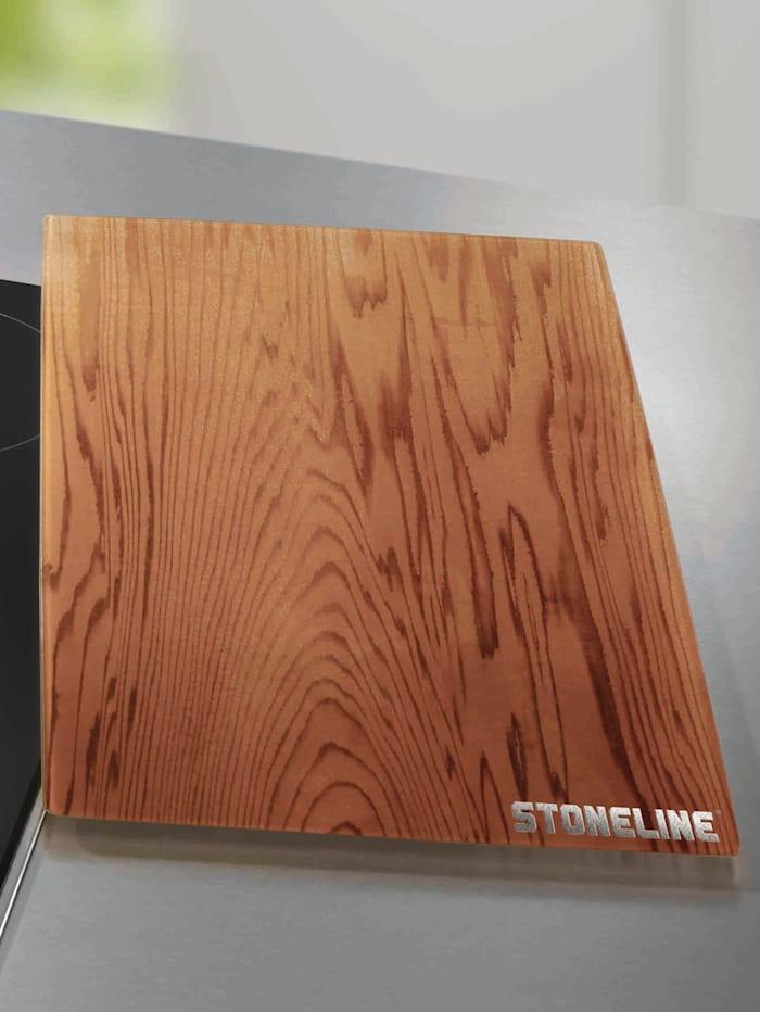 Stoneline 2-dlg set afdekplaten, Houtlook