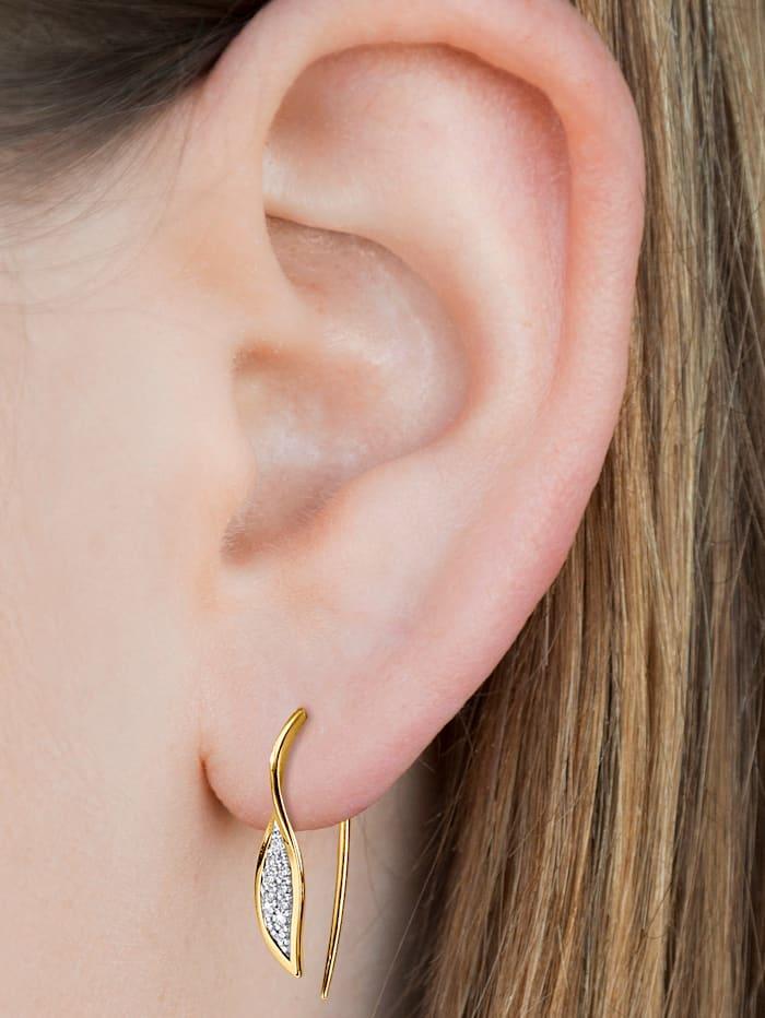 Ohrringe mit Brillanten