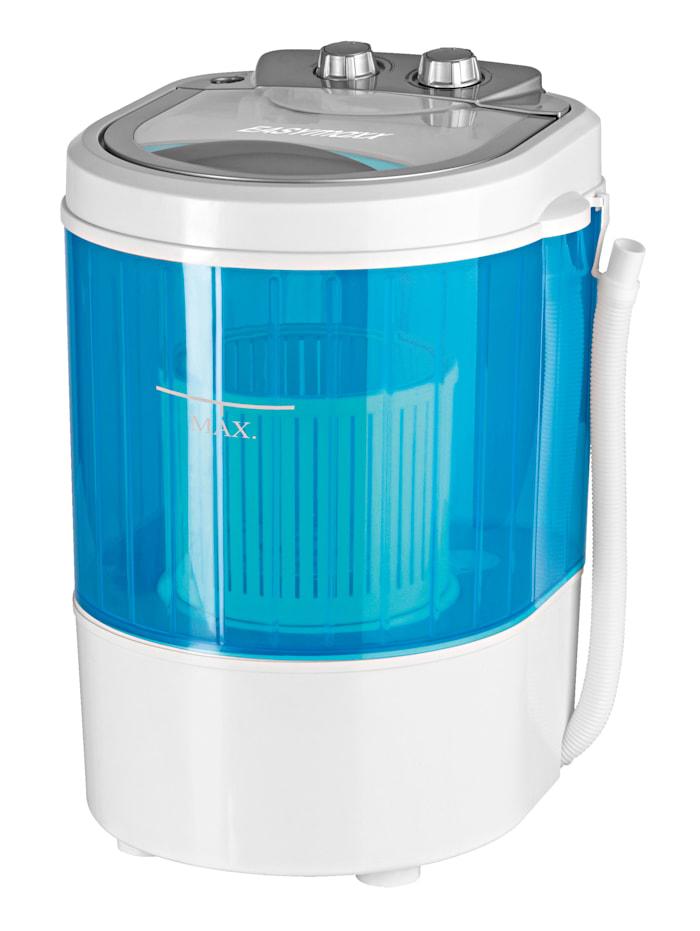 EASYmaxx Mini-Waschmaschine für 3 kg Wäsche, Weiß/Blau