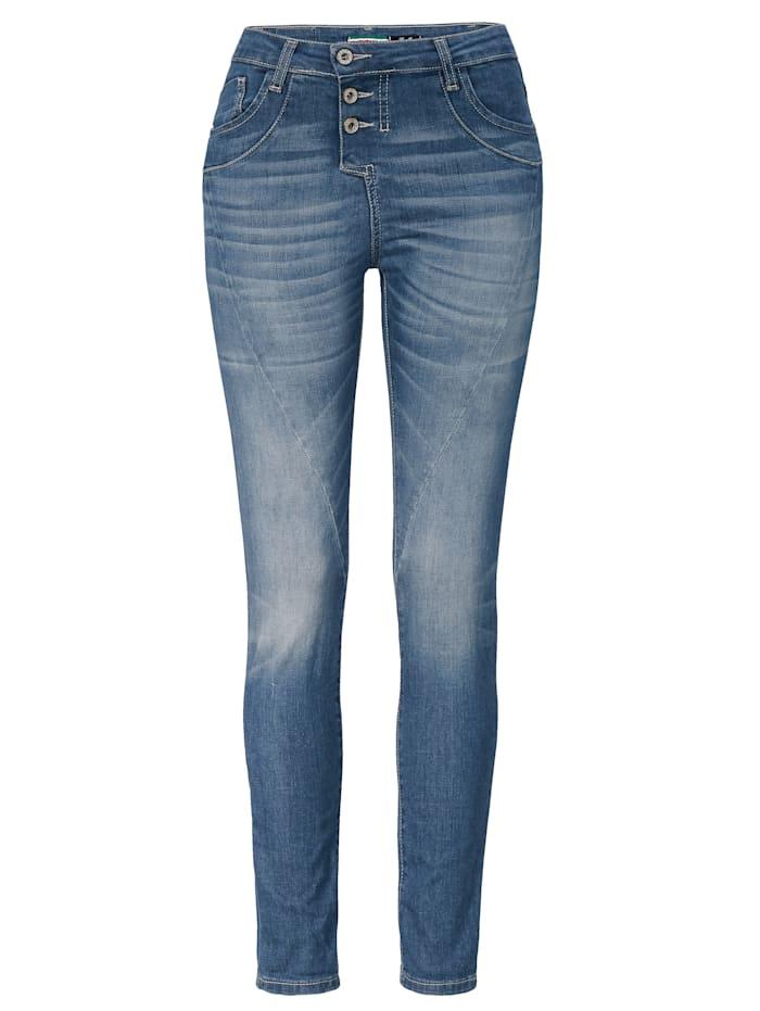 PLEASE Jeans, Blau