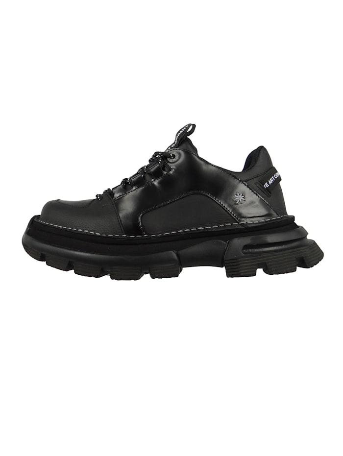 Damen Leder Sneaker CORE1 Black Schwarz 1651