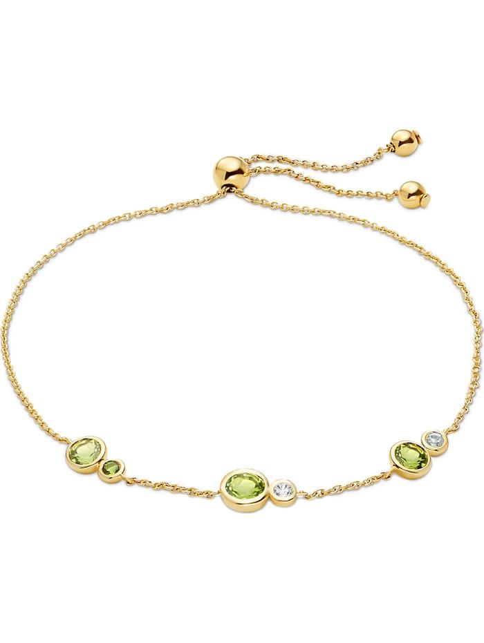CHRIST GOLD CHRIST Gold Damen-Armband 375er Gelbgold 2 Peridot, gelbgold