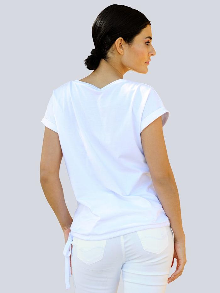 Shirt mit exklusivem Druckmotiv