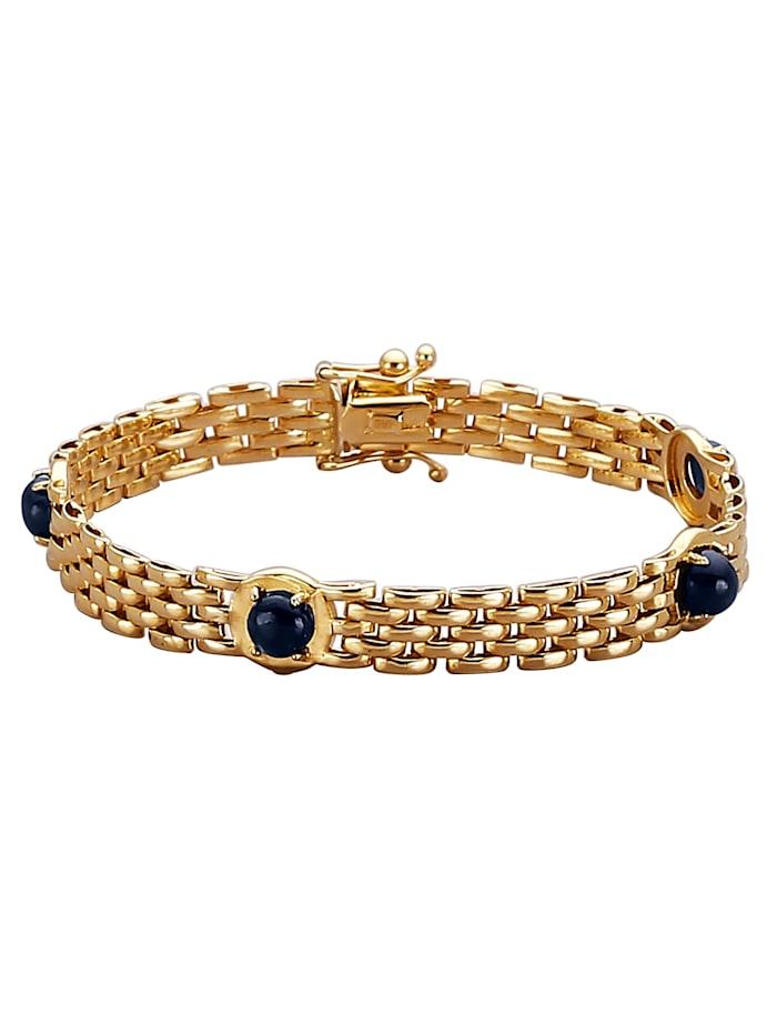 Diemer Farbstein Armband, Blauw
