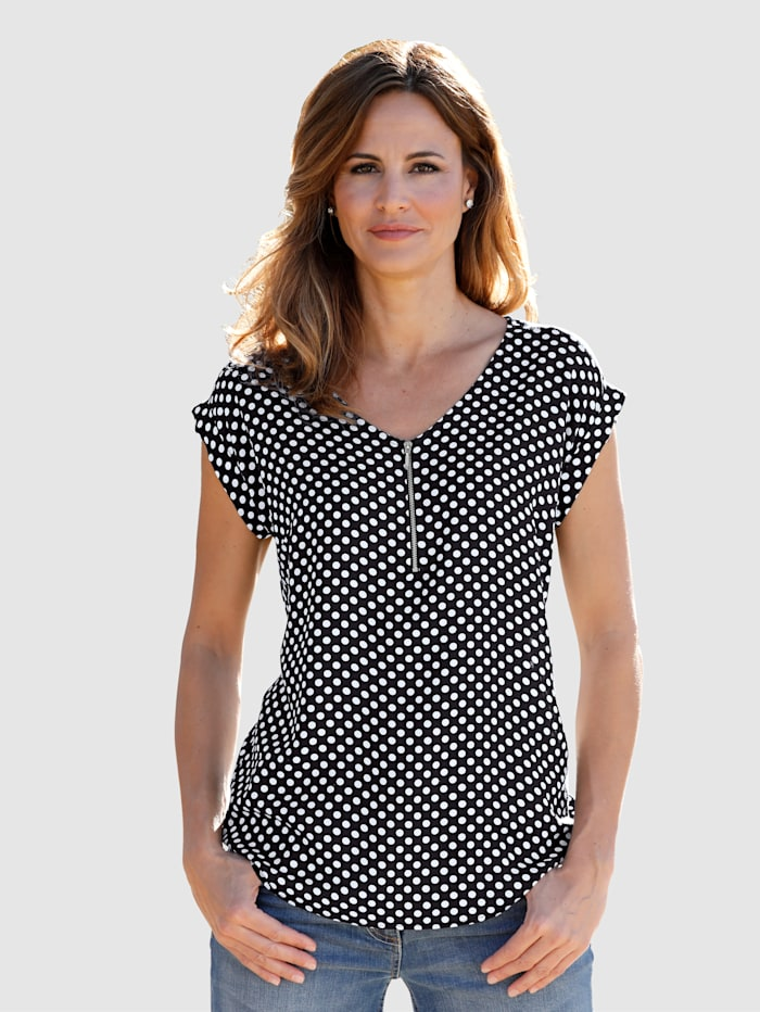 Blouse Timeless polka dot design