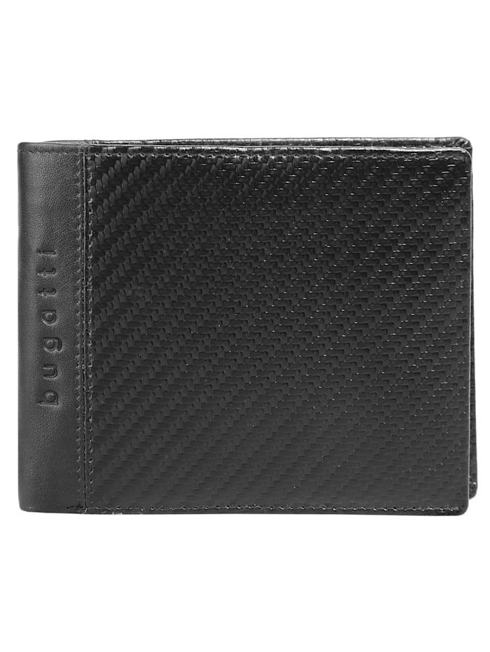 Bugatti Geldbörse COMET, schwarz
