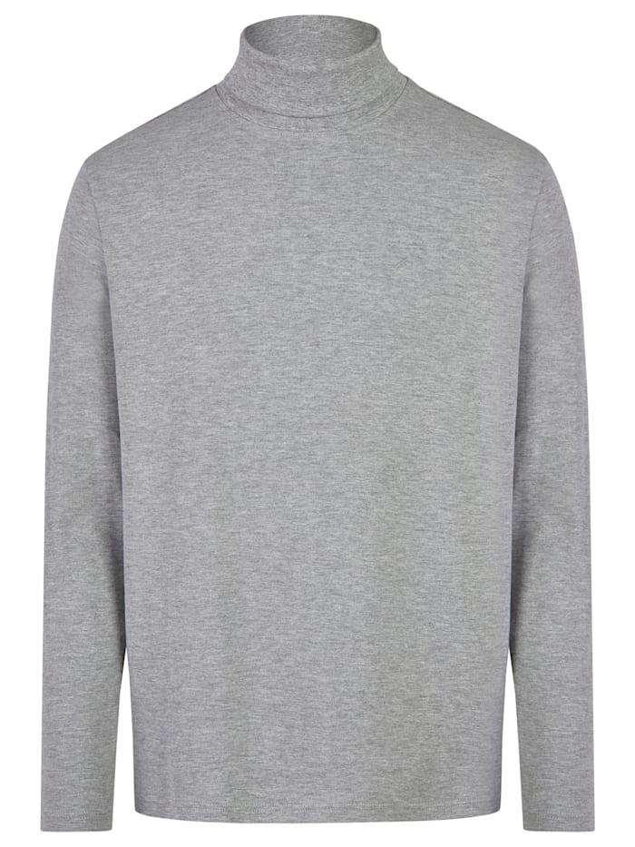 Daniel Hechter Essential Rollkragen-Shirt, silver