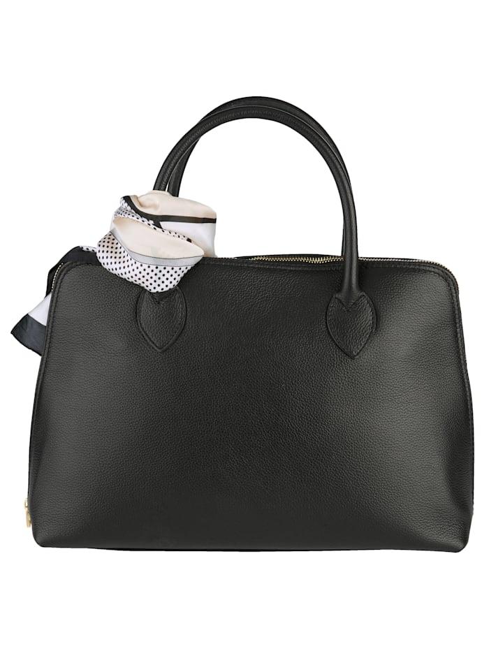 Handväska med avtagbar scarf