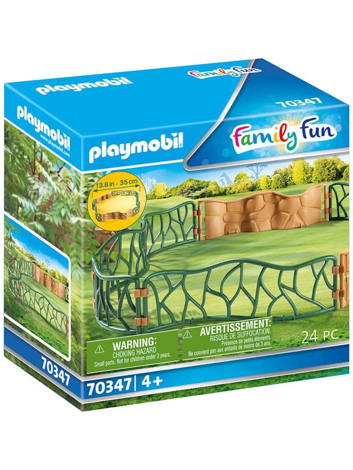 PLAYMOBIL Konstruktionsspielzeug Erlebnis-Zoogehege, bunt/multi