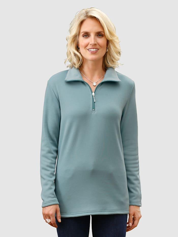 Paola Sweatshirt mit kuschelig weicher Innenseite, Mintgrün
