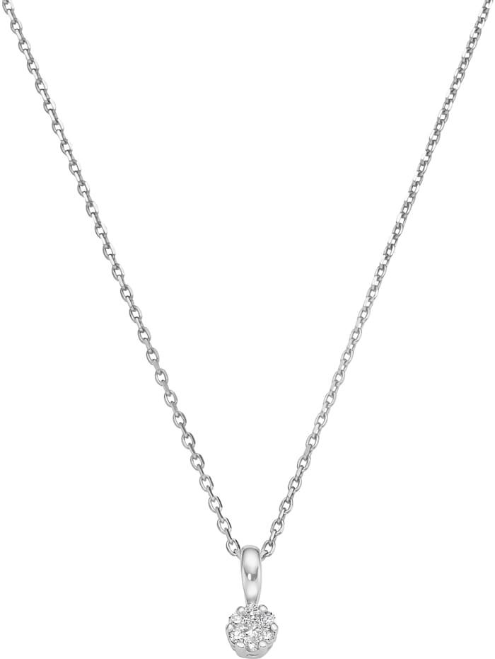 CHRIST Diamonds CHRIST Damen-Kette 7 Diamant, weißgold